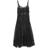 DOLCE GABBANA black lace dress - Dresses -