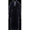 DOLCE & GABBANA black velvet coat - Jacket - coats -
