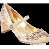DOLCE GABBANA brocade embellished shoe - Classic shoes & Pumps -