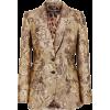 DOLCE GABBANA brown brocade jacket - Jakne i kaputi -