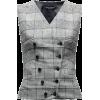 DOLCE GABBANA checked waistcoat - Giacce e capotti -