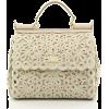 DOLCE & GABBANA crochet doctor's bag - Hand bag -