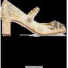 DOLCE GABBANA embellished brocade shoe - Classic shoes & Pumps -