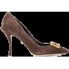 DOLCE & GABBANA embellished logo buckle - Classic shoes & Pumps -