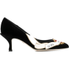 DOLCE & GABBANA embroidered velvet pumps - Classic shoes & Pumps -