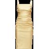 DOLCE GABBANA golden lamé dress - Dresses -
