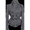 DOLCE GABBANA houndstoot wool jacket - Jacket - coats -