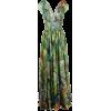 DOLCE & GABBANA jungle-print long dress - Kleider -