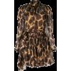 DOLCE & GABBANA leopard print flared dre - Dresses -