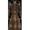 DOLCE & GABBANA leopard print trench coa - Jacket - coats -