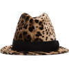 DOLCE & GABBANA leopard print trilby hat - Cappelli -