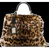 DOLCE & GABBANA luipaardprint Sicily tas - Torebki -
