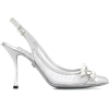 DOLCE & GABBANA mesh slingback pumps - Classic shoes & Pumps -
