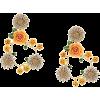 DOLCE & GABBANA ornate floral earrings - Orecchine -