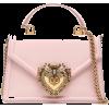 DOLCE GABBANA pink bag - Borsette -