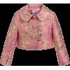 DOLCE GABBANA pink gold brocade jacket - 外套 -