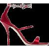 DOLCE GABBANA red sandal - Sandali -