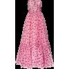 DOLCE & GABBANA strapless polka-dot silk - sukienki -