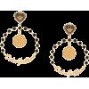 DOLCE & GABBANA votive motif clip-on hoo - Earrings -