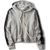 DON'T ASK WHY LACE ARM HOODIE - Pullovers -