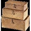 DOT & BO rattan boxes - Uncategorized -