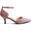 D'Orsay ankle strap pointed court shoes - Classic shoes & Pumps -