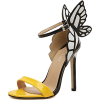 D'Orsay butterfly pump court shoes - Sandals -