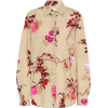 DRIES VAN NOTEN Floral cotton shirt - Long sleeves shirts -