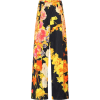 DRIES VAN NOTEN Floral high-rise wide-le - Capri hlače -