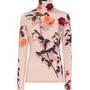 DRIES VAN NOTEN Floral stretch-jersey tu - Long sleeves shirts -