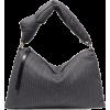 DRIES VAN NOTENPadded pinstriped wool-bl - Hand bag - £295.83  ~ $389.24