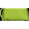 DRIES VAN NOTEN Quilted satin clutch - Hand bag -