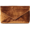 DRIES VAN NOTEN Velvet clutch - Borse con fibbia -