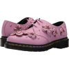 DR MARTENS mauve flowers shoes - Classic shoes & Pumps -