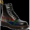 DR MARTENS tartan boot - Boots -