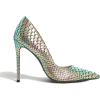 DUNE Banksy reptile-effect heels - Classic shoes & Pumps -