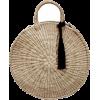 DUO DE MAR straw bag - ハンドバッグ -