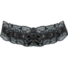 black lace choker - Necklaces -