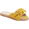Darcie Slide Sandal Caslon in yellow - Sandals -