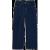 Dark Blue Jeans - Jeans -