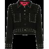 De La Vali - Cropped suede jacket - Jacket - coats -