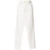 Deconstructed denim skirt - Skirts -