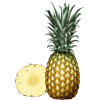 Ananas - Fruit -