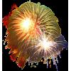Firework Lights Yellow - Luči -