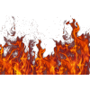 Flaming fire psd - Illustrations -