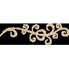 Gold swirls - イラスト -