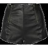 McQ kožne hlačice - Shorts -
