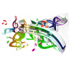 Music Notes - Illustrations -