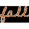 fall - Teksty -
