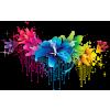 Flower Drip Psd - Illustrations -